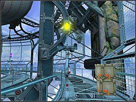 Po drugiej stronie rampy znalazłem inną windę, którą przejechałem na następną platformę - 12 MARU cz.3 - Sentinel: Strażnik Grobowca - poradnik do gry