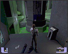 Przejdź po cichu w stronę pobliskich skrzyń i zabij Jem'hadar - - Arduria - WORF - Star Trek Deep Space Nine: The Fallen - poradnik do gry