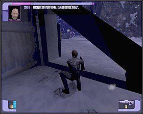 Bardzo ważny jest tutaj początek - - Hass'Terral Surface - WORF - Star Trek Deep Space Nine: The Fallen - poradnik do gry