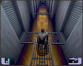 Pokonaj tunel pełen ognistych oparów (przebiegnij przez niego) [1] - - Hass'Terral Surface - WORF - Star Trek Deep Space Nine: The Fallen - poradnik do gry