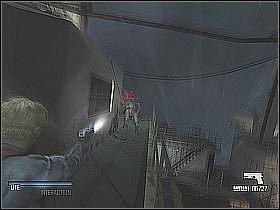 Skorzystaj z ukazanych na pierwszym screenie drzwi - Find Yusupov (2) - Statek - Cold Fear - poradnik do gry