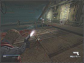 ZANIM ruszysz dalej wróć się do miejsca, w którym rozpoczynałeś badanie tego pomieszczenia - Free Anna (2) - Statek - Cold Fear - poradnik do gry