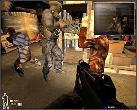 3 - Sklep Qwik Fuel - Akcja - Misja 3 - SWAT 4 - poradnik do gry