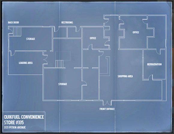 1 - Sklep Qwik Fuel - Sytuacja - Misja 3 - SWAT 4 - poradnik do gry