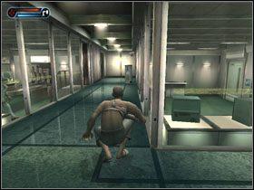 Przekradamy się ostrożnie na drugą stronę korytarza, przechodzimy przez tamtejsze drzwi, po czym zbieramy ze stolika paralizator - [Solucja] Etap 3 - Second Sight - poradnik do gry