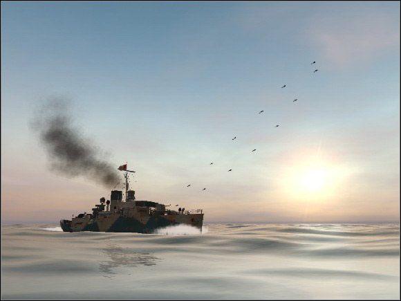 Aliancka marynarka dysponuje następującymi okrętami przeznaczonymi do zwalczania okrętów podwodnych - Siły wroga - Silent Hunter III - poradnik do gry