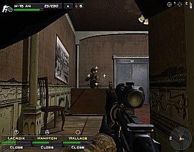 Kolejną lokacją będzie plac, wokół którego musisz wyczyścić budynki - Misja 3 - Close Combat: First to Fight - poradnik do gry