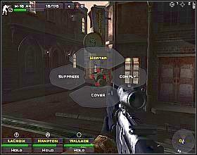Ustaw swoich żołnierzy przy przejściu z lewej, a sam udaj się do tego z prawej - Misja 3 - Close Combat: First to Fight - poradnik do gry