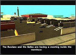 Tenpenny chce cię ostrzec przed Ballas - Los Santos - Tenpenny (G) - Misje - Grand Theft Auto: San Andreas - poradnik do gry