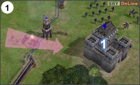 Pierwszy punkt twojej obrony znajduje się w (1) - [Korea] Misja 6 cz.1 - Empire Earth II - poradnik do gry