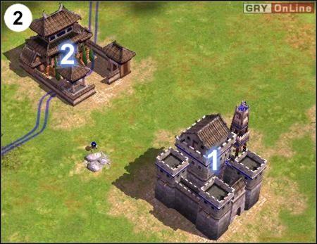 Drugi punkt jest w (2) - [Korea] Misja 6 cz.1 - Empire Earth II - poradnik do gry