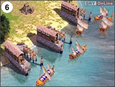Obrazek (6) pokazuje to, co musisz teraz robić - maksymalne i szybkie rozbudowanie floty - [Korea] Misja 6 cz.2 - Empire Earth II - poradnik do gry