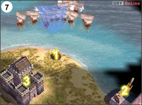 Gdy będziesz miał przynajmniej dziesięć Trirem, ruszaj na piratów - [Korea] Misja 6 cz.3 - Empire Earth II - poradnik do gry