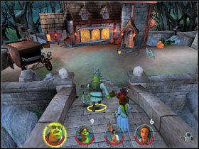 1 - [Solucja] Etap 2 - Straszny Las cz.3 - Shrek 2: Team Action - poradnik do gry