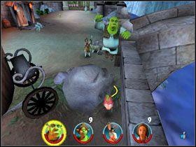 2 - [Solucja] Etap 2 - Straszny Las cz.3 - Shrek 2: Team Action - poradnik do gry
