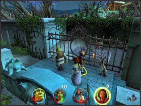 6 - [Solucja] Etap 2 - Straszny Las cz.3 - Shrek 2: Team Action - poradnik do gry
