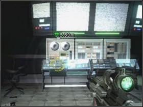 Runda rozpoczyna się [01] przerywnikiem, po upłynięciu którego dochodzi do wymiany ognia LS - Etap 4 (Piętro) - Solucja - Area 51 - poradnik do gry