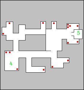 Na środku zauważysz zejście niżej oraz kamienny blok - Mausoleum, poziom 2 - Fargrove - Dungeon Lords - poradnik do gry