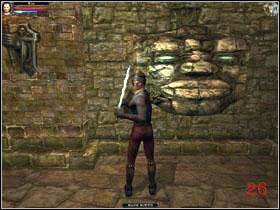 Zaczynasz w komnacie (1) - Mausoleum, poziom 1 - Fargrove - Dungeon Lords - poradnik do gry