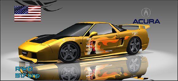 Klasa podstawowa - 7 - Acura - Samochody - Juiced: Szybcy i Gniewni - poradnik do gry