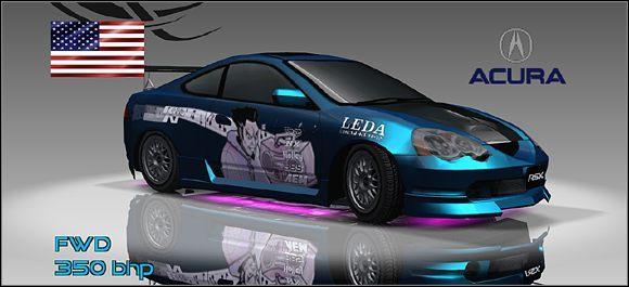 Klasa podstawowa - 8 - Acura - Samochody - Juiced: Szybcy i Gniewni - poradnik do gry