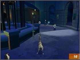 Pingwin wskaże Ci nowy tunel, który pozwoli Ci przedostać się do kolejnej części kompleksu - Marty's Escape! - Solucja - Madagaskar - poradnik do gry