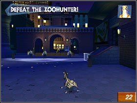 Po przejściu przez bramę znajdziesz się w ostatniej części Zoo - Marty's Escape! - Solucja - Madagaskar - poradnik do gry