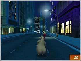 6 - N.Y. Street Chase - Solucja - Madagaskar - poradnik do gry