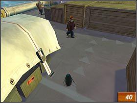 Skorzystaj z trąbki i wyeliminuj dwóch marynarzy (#40) - Penguin Mutiny - Solucja - Madagaskar - poradnik do gry