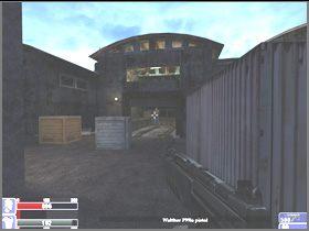 Wyjdź z magazynu na plac, zabijając po drodze atakujących cię przeciwników (lewy obrazek) - [06] Broken Lanterns Street cz.1 - Hellforces - poradnik do gry