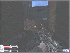 Wejdź za barierki i zabierz zaznaczony na czerwono Huge silver tape recorder - [06] Broken Lanterns Street cz.2 - Hellforces - poradnik do gry