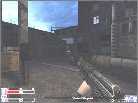 Skręć w lewo, w ciemnym rogu znajdziesz amunicję i zbroję (lewy obrazek) - [06] Broken Lanterns Street cz.2 - Hellforces - poradnik do gry