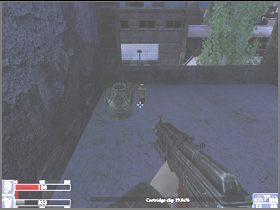 Idź dalej dachami, skręć w lewo i wejdź po kładce widocznej na lewym obrazku - [06] Broken Lanterns Street cz.3 - Hellforces - poradnik do gry
