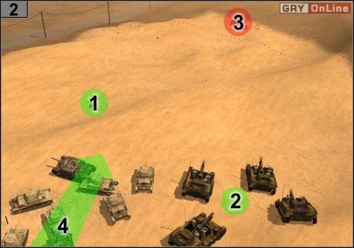 Jedź wszystkimi do #2 - Misja 5 - Sidi Rezegh (2) - Państwa Osi - Codename: Panzers - Faza Druga - poradnik do gry