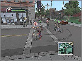 2 - [Opis przejścia] Misja 2 - Miasto - Ultimate Spider-Man - poradnik do gry