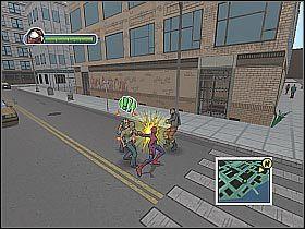 3 - [Opis przejścia] Misja 2 - Miasto - Ultimate Spider-Man - poradnik do gry