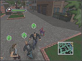 Na mapie powinien pojawić się punkt rozpoczęcia kolejnej głównej misji - [Opis przejścia] Misja 2 - Miasto - Ultimate Spider-Man - poradnik do gry