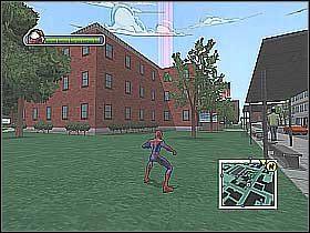 1 - [Opis przejścia] Misja 3 - R.H.I.N.O. cz.1 - Ultimate Spider-Man - poradnik do gry