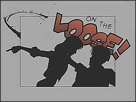 Po odzyskaniu kontroli nad Człowiekiem Pająkiem zeskocz z budynku szkoły i zacznij biec w stronę widocznych w oddali checkpointów (screen 1) - [Opis przejścia] Misja 3 - R.H.I.N.O. cz.1 - Ultimate Spider-Man - poradnik do gry