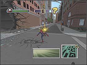5 - [Opis przejścia] Misja 3 - R.H.I.N.O. cz.1 - Ultimate Spider-Man - poradnik do gry