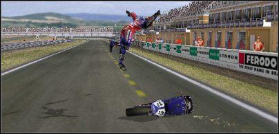 Czyżby niedokręcona śrubka? - Konfiguracja motocykla - Trening - Superbike 2001 - poradnik do gry