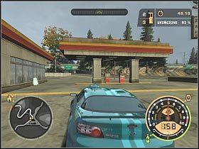 Przed Tobą seria ostrych zakrętów - Imprezy wyścigowe - Czarna lista 11 - Big Lou - Need for Speed: Most Wanted - poradnik do gry