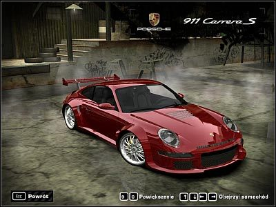 porsche 911 carrera s samochody need for speed most wanted 2005 poradnik do gry. Black Bedroom Furniture Sets. Home Design Ideas