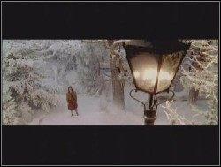 Edmund: Wziąłem leżącą gałąź i uderzyłem nią kilkakrotnie, by przebić się przez drzewa na wprost - Pierwsze spotkanie z Narnią - Opis przejścia - Opowieści z Narnii: Lew, Czarownica i stara szafa - poradnik do gry