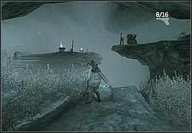 Na końcu dotrzesz do wielkiej i rozległej jaskini oraz spotkasz po drugiej strony przepaści czarnoskórego kompana Hayesa - [Solucja] Hayes cz.2 - Peter Jacksons King Kong - poradnik do gry