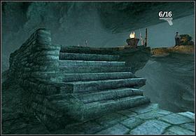 Następnie przepłyń 'basen' i wejdź po schodach na podwyższenie - [Solucja] Hayes cz.3 - Peter Jacksons King Kong - poradnik do gry