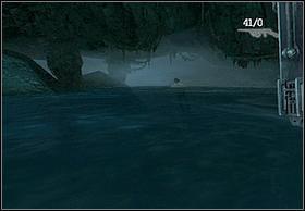 Przechodząc przez nią miniesz mała halę, z której dostaniesz się do podziemnej rzeki - [Solucja] Hayes cz.3 - Peter Jacksons King Kong - poradnik do gry