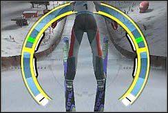 Ostatni element, który wymaga już wprawy i doświadczenia - Lądowanie - Nauka skakania - Skoki narciarskie 2006 - poradnik do gry