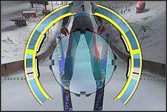 Są też lądowania awaryjne, czyli takie, które są bajecznie proste do wykonania, a ratują nasz tyłek przy dalekich odległościach - Lądowanie - Nauka skakania - Skoki narciarskie 2006 - poradnik do gry