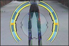 3 - Lądowanie - Nauka skakania - Skoki narciarskie 2006 - poradnik do gry